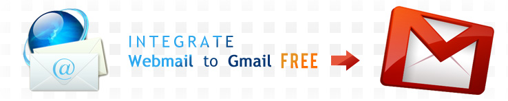 Integrate webmail to gmail free